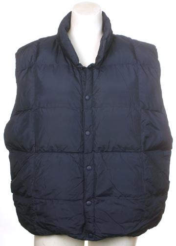 Lands End Mens Down Vest XL