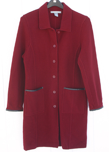 Marconi Wool Coat Womens M