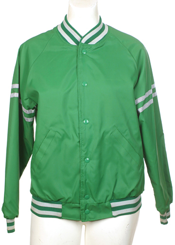 Green Baseball Jacket M/S