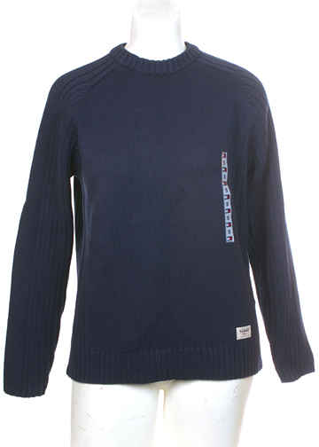 Tommy Jeans Mens Small Hilfiger Cotton Sweater