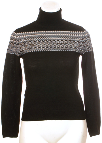 Ann Taylor Nordic Wool Turtleneck Small
