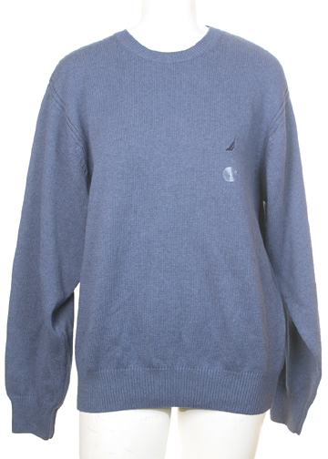 Nautica brand New Cotton Sweater Large