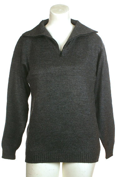 Womens 1/4 Zip Turtleneck T neck T-neck sweater