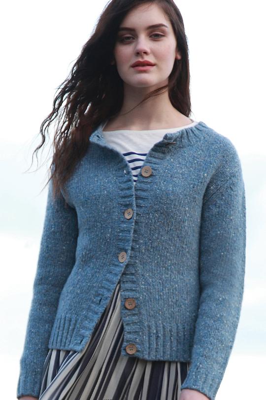 Womens Fisherman Sweater